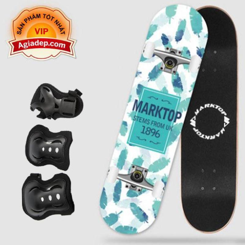 Giá bán Ván trượt chuyên nghiệp cho thanh thiếu niên - Skateboard Marktop - Hàng xịn xuất Châu Âu
