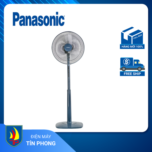 Quạt đứng Panasonic F-409K xanh