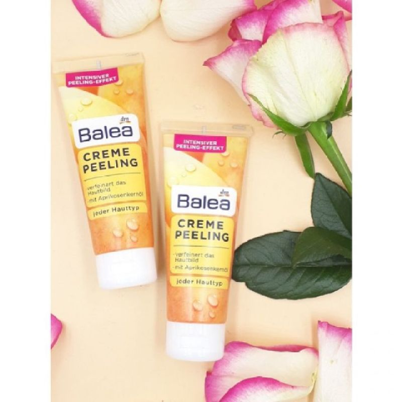 (Gm Store) Tẩy tế bào chết cho mặt Balea Creme Peeling, 75 ml