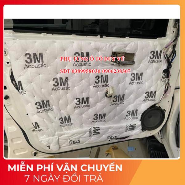 bông tiêu âm chống ồn 3M dùng trong ô tô khổ 80x50x1 và khổ 40x50x1
