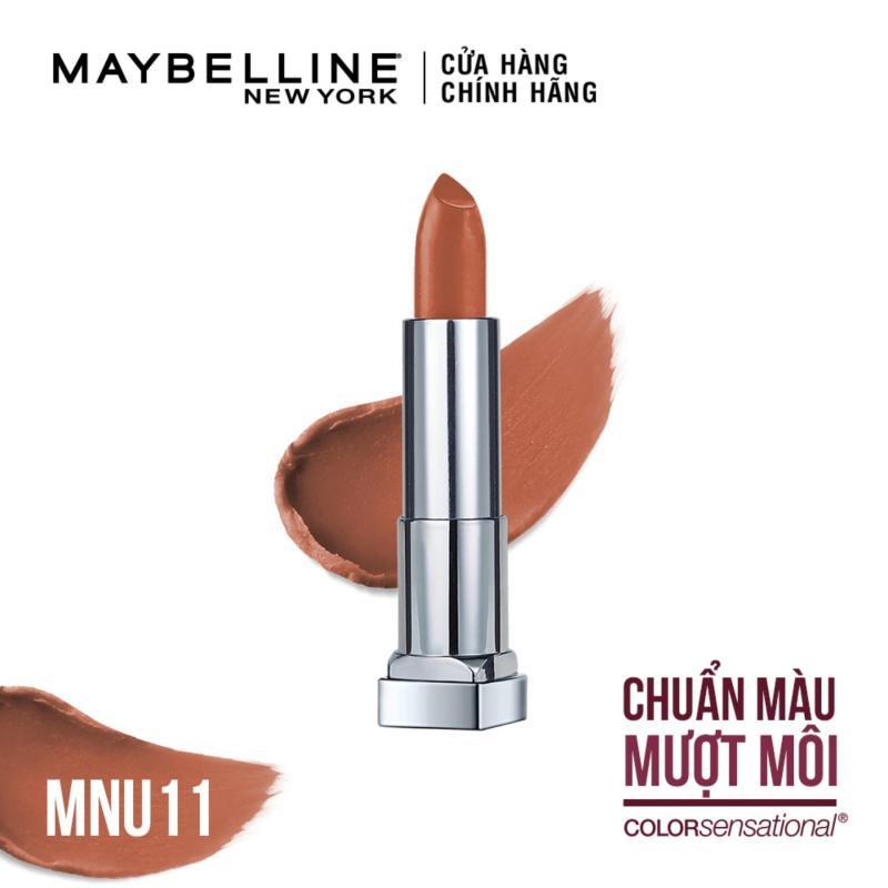 Son lì siêu nhẹ môi Maybelline New York Color Sensational Powder Matte Intimatte Nude 3.9g cao cấp