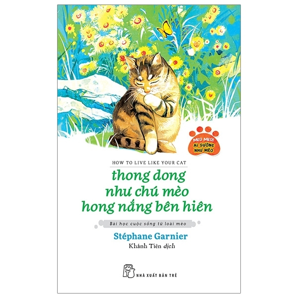 Fahasa - Thong Dong Như Chú Mèo Hong Nắng Bên Hiên