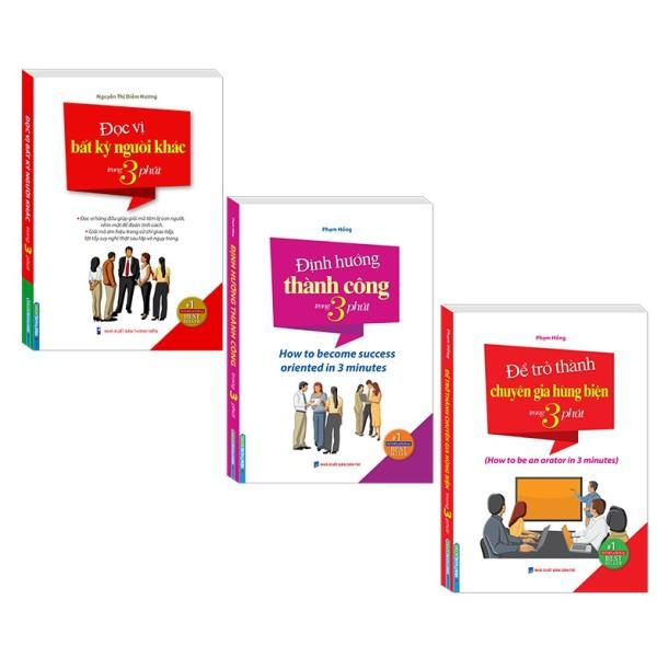 Sách - Combo định hướng thành công ; để trở thành chuyên gia hùng biện ; Đọc vị bất kỳ người khác trong 3 phút(3 cuốn)