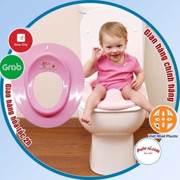 Bệ thu nhỏ bồn cầu cho bé nhựa Việt Nhật, bệ xí thu nhỏ bồn cầu giúp bé ngồi an toàn thoải mái (MS: 5439) -Buôn rẻ 01235