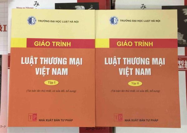 Mua Combo 2 cuốn luật thương mại tập 1 và tập 2