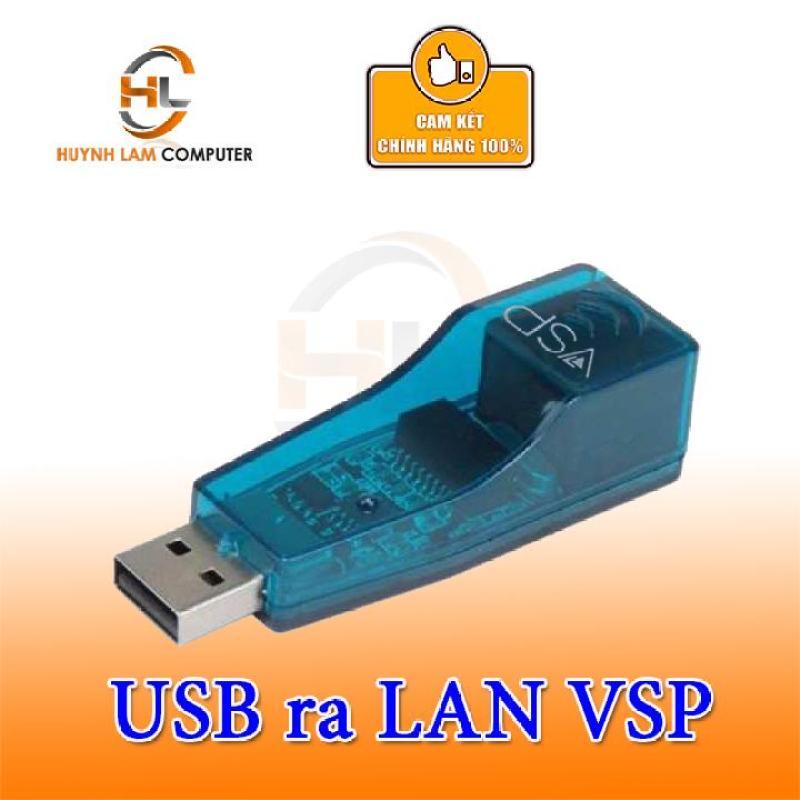 Bảng giá Bộ chuyển đổi USB ra cổng Lan VSP tốc độ 10/100Mbs Phong Vũ