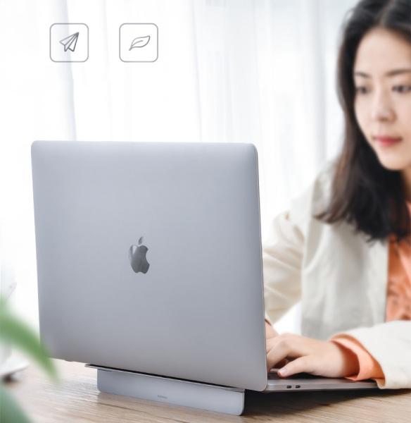 Bảng giá Giá đỡ tản nhiệt Baseus có thể gập lại dùng gắn cho máy tính/Macbook Air Pro 16 15 14 13 Inch Phong Vũ