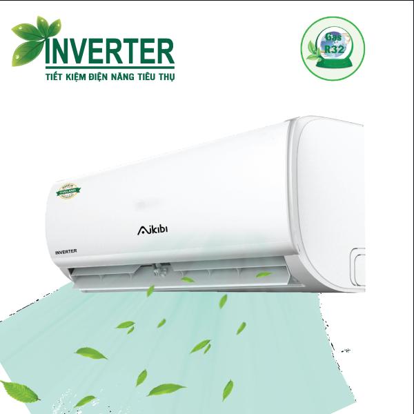MÁY LẠNH AIKIBI 1 HP LOẠI TREO TƯỜNG INVERTER MF - GAS R32