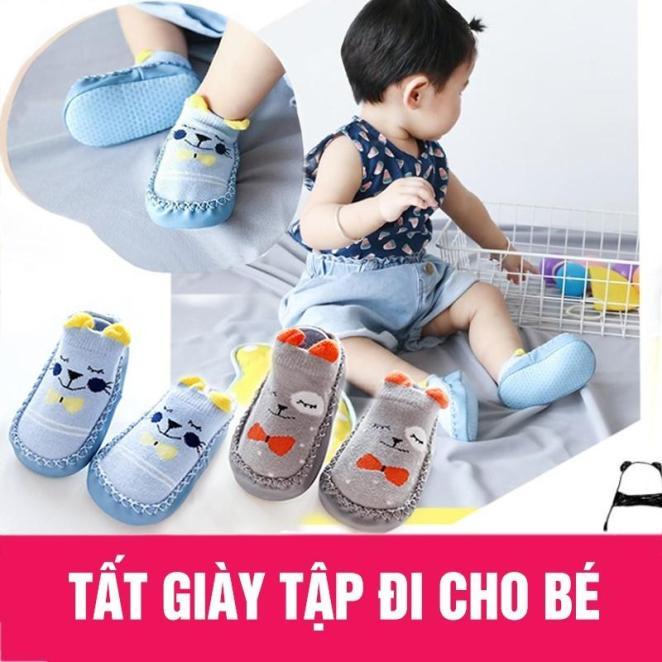 Giày tập đi chống trượt cho bé trai/bé gái giá rẻ