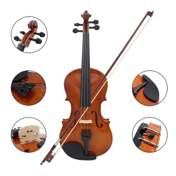 Bộ Đàn Violin ShangHai11590, Size 4/4 - FULL Phụ Kiện
