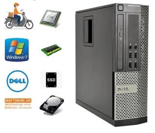 Máy tính đồng bộ Dell Optiplex 990 core i5 RAM 4GB HDD 250GB + Tặng kèm bộ bàn phím chuột Gipco thumbnail