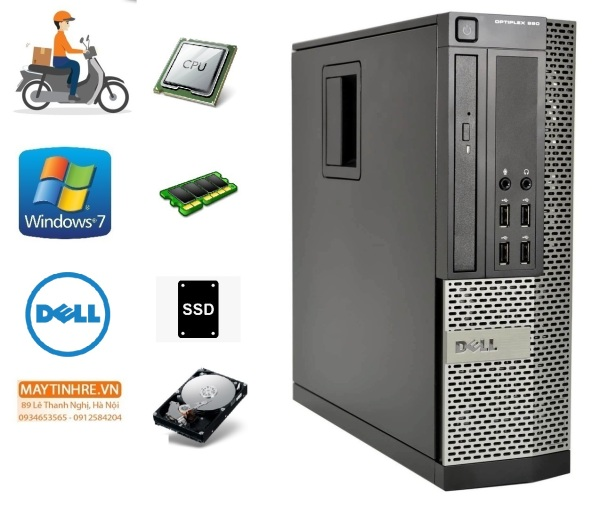 Bảng giá Máy tính đồng bộ Dell Optiplex 990 core i5 RAM 4GB HDD 500GB Phong Vũ