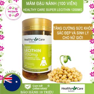 Mầm đậu nành Healthy Care Super Lecithin 1200mg (100 Viên) thumbnail