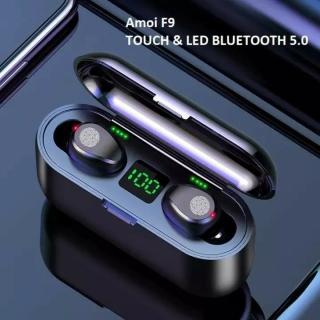 Tai Nghe Bluetooth AMOI F9 Bản Pro Nâng Cấp Kiêm Pin Sạc Dự Phòng Điện Thoại 2000mAh Tặng Cáp 99k - Tai Nghe Bluetooth Mini Tai Nghe Nhạc Chơi Game - Tai Nghe Tốt Tai Nghe Không Dây thumbnail