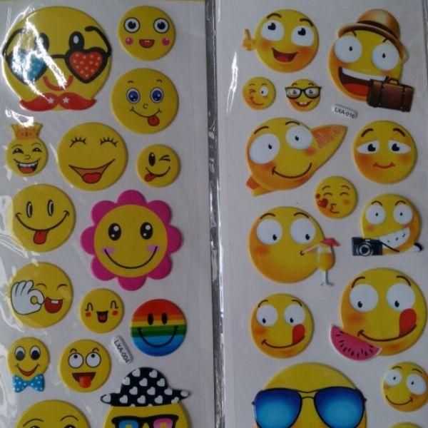 Mua Sticker Nổi Hình Mặt Cười