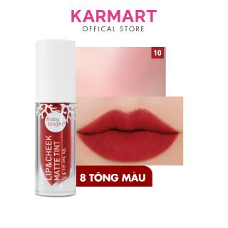 Son Kem Và Má Hồng Baby Bright Lip & Cheek Matte Tint 2.4g thumbnail