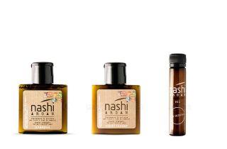 Bộ dầu gội xả và tinh dầu chăm sóc tóc Nashi Argan Travel Kit - Hàng chính hãng thumbnail