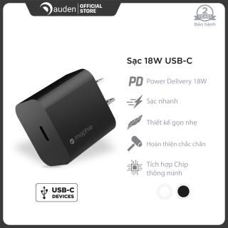 Sạc nhanh Mophie Power Delivery 18W USB-C dành cho iPhone iPad - Dâu Đen Store thumbnail