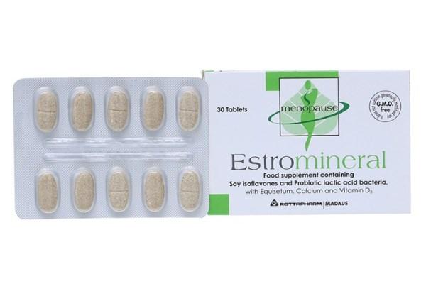 Viên uống hỗ trợ sinh lý nữ Estromineral 30 viên