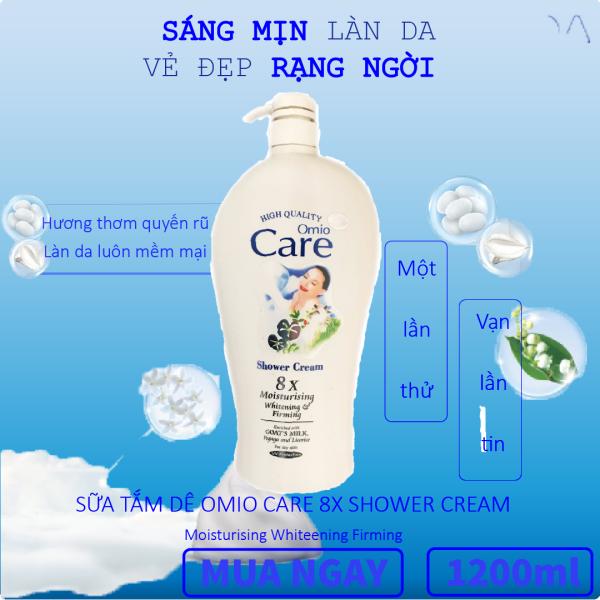Sữa tắm dê Care 8X chai 1200ml hương thơm ngất ngây, giàu dưỡng chất giúp cải thiện làn da khô, ngăn ngừa lão hóa hiệu quả, da mịn màng Susuto Shop