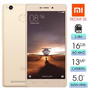 Điện thoại Xiaomi Redmi 3S Chính Hãng - Ram 2 16GB - Pin Trâu thumbnail
