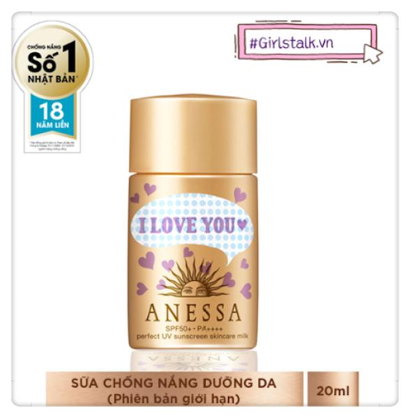 Kem Chống Nắng Dạng Sữa Chống Trôi Anessa Perfect UV Sunscreen Skincare Milk - Girlstalk shop