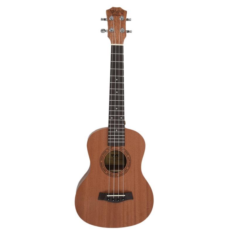 Offer Ưu Đãi 26 Inch Mahogany Wood 18 Fret Tenor Ukulele Acoustic Cutaway Guitar Mahogany Wood Ukelele Hawaii 4 String Guitarra