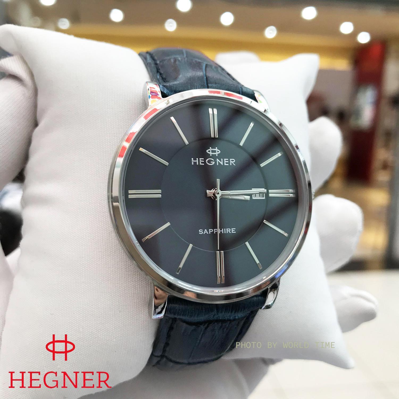 Nơi bán Đồng hồ Nam Hegner HW-403MWBLUE - Full Box , Thẻ BH hãng - Kính Sapphire chống xước, chống nước