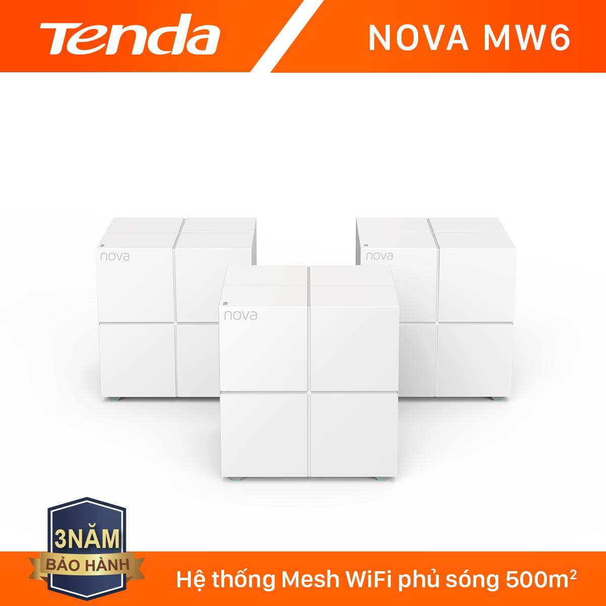 Giá Tenda Hệ thống Wifi Nova Mesh cho gia đình MW6 Chuẩn AC 1200Mbps - Hãng phân phối chính thức