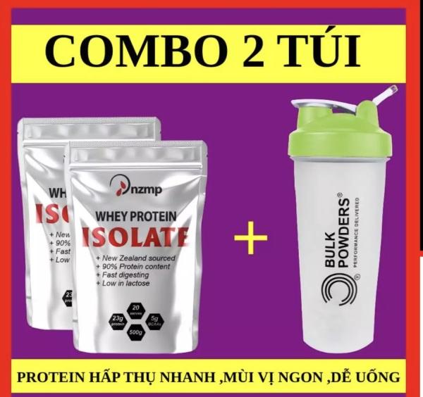 Combo 2 túi WHEY ISOLATE PROTEIN NZMP - Tặng Bình Shaker