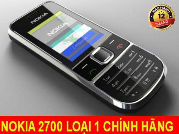Điện thoại độc cổ NOKIA 2700 giá rẻ phổ thông người già đều dùng được