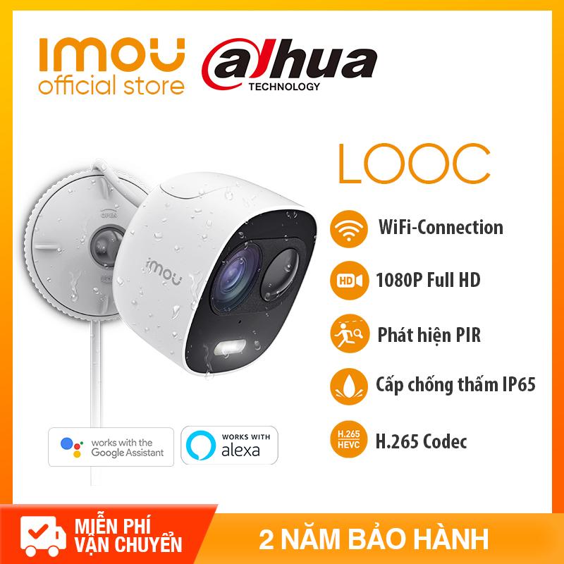 DAHUA CAMERA IPC WIFI IMOU C26EP -  NGOÀI TRỜI FULL HD 1080P - Hỗ trợ thẻ nhớ 128GB + Lưu trữ đám mây + Kết nối Đầu ghi - Bảo hành chính hãng 2 năm