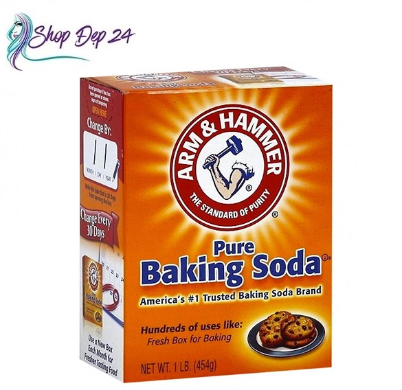 Voucher Khuyến Mại [DATE MỚI 10/2022] Bột Baking Soda Công Dụng 454g