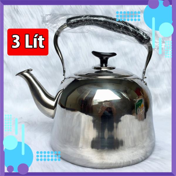 Ấm đun nước inox 304 3 lít Cao cấp