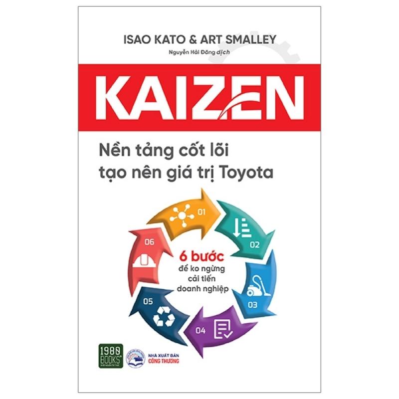 Fahasa - Kaizen - Nền Tảng Cốt Lõi Tạo Nên Giá Trị Toyota
