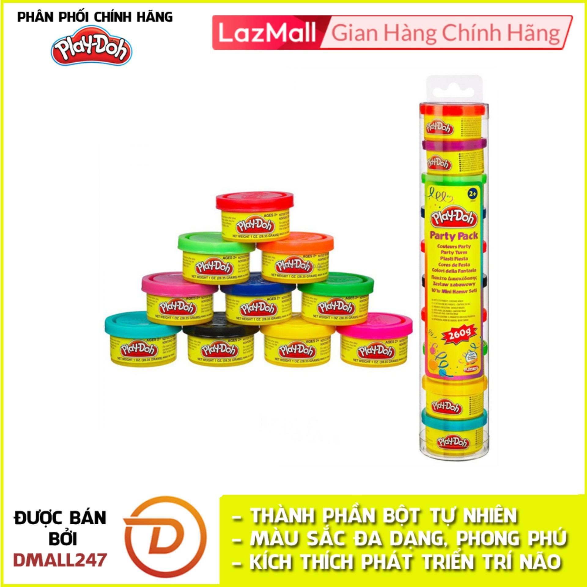 Voucher Khuyến Mại Ống Bột Nặn Tạo Hình 10 Màu Play-Doh 22037