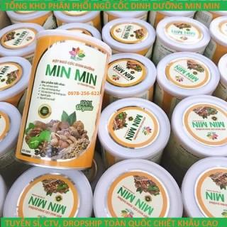 Ngũ Cốc Lợi Sữa - Bột Ngũ Cốc Min Min Từ 29 Loại Hạt (500GAM) thumbnail