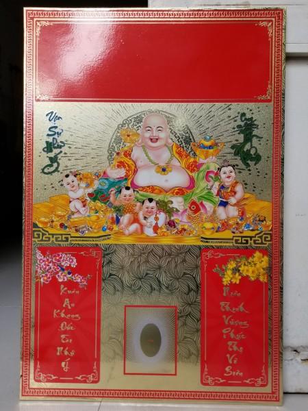 Mua Bìa lịch treo tường 40 x60 hình Phật Di Lạc
