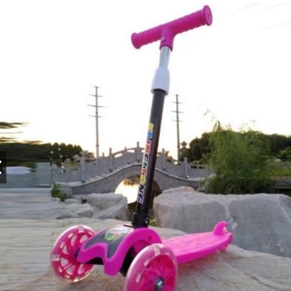 Phân phối xe trượt scooter có bánh xe phát sáng - xe cân bằng - xe lắc cho bé từ 2-8 tuổi chơi xe scooter  - xe trượt -     xe  scooter - xe trượt  scooter