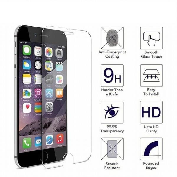 Kính cường lực Glass trong suốt không viền chống xước dành cho iphone 6 6s 7 8 6 plus 6s plus 7 Plus 8 Plus X Xr XsMax 11 11pro 11promax - thegioisilevip