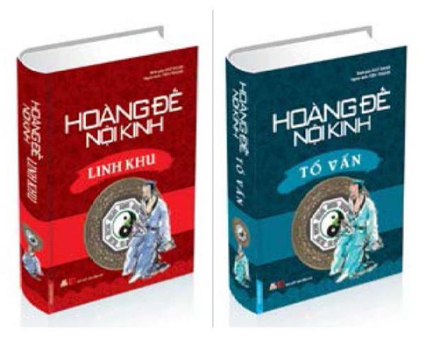 Mua Sách Y Học - Hoàng Đế Nội Kinh - Trọn Bộ 2 Quyển - Khổ Lớn, Bìa Cứng