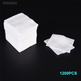 Một túi 1200 miếng bông tẩy trang bằng chất liệu cotton nguyên chất mềm mại và thấm hút tốt - INTL thumbnail