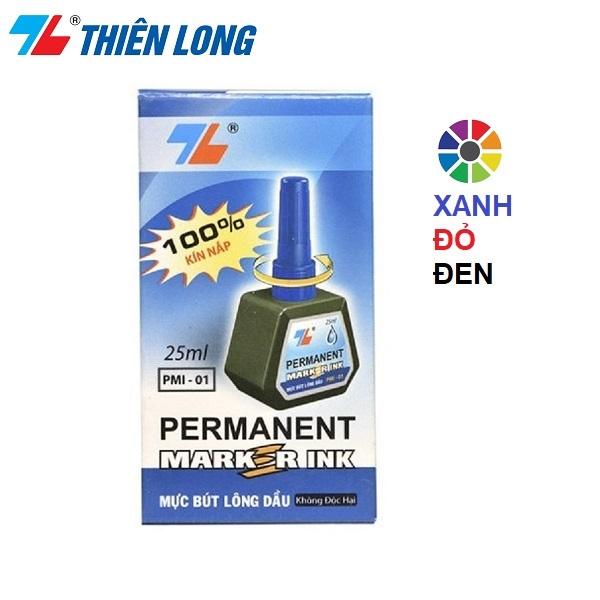 Mua Mực Bút Lông Dầu Thiên Long PMI-01