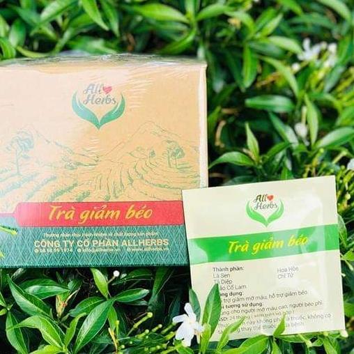 All herbs-Trà giảm mỡ thảo dược nhập khẩu