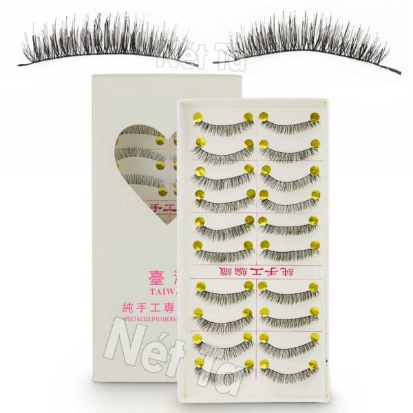 Bộ 10 cặp lông mi giả 3D handmade Nét Ta giá rẻ