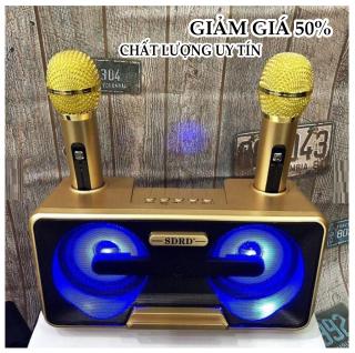[HCM]Loa nhật công suất lớn Loa Thùng Bluetooth Hát Karaoke SD 301 + 2 MIC Loa Bass 2 loa bass 1 tấc Phù Hợp Hát Karaoke Tại Nhà Đi Phượt Dã Ngoại Cực Kì Tiện. thumbnail