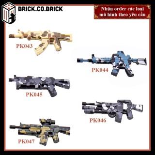 Phụ kiện MOC Army- Đồ chơi lắp ráp minifig và non-lego mô hình sáng tạo trang trí quân đội- PK043-PK047 thumbnail