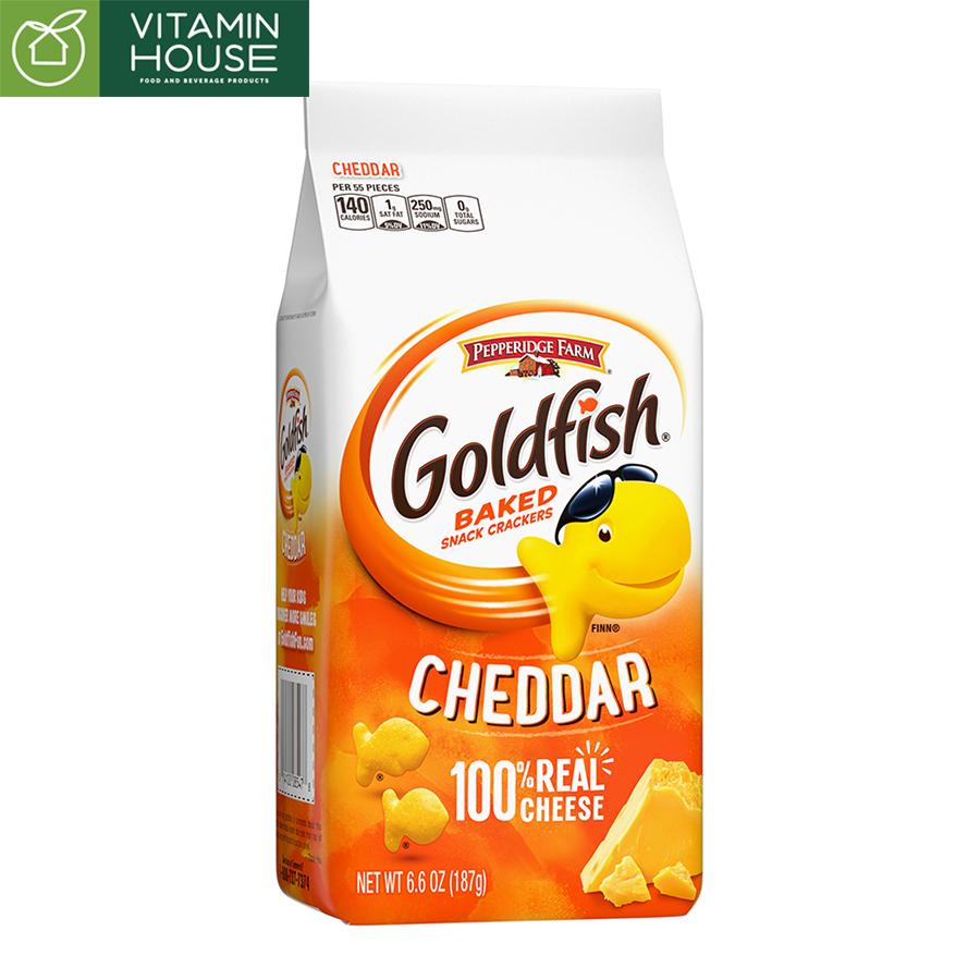 Bánh Cá Phô Mai Goldfish Pepperidge Farm 187g