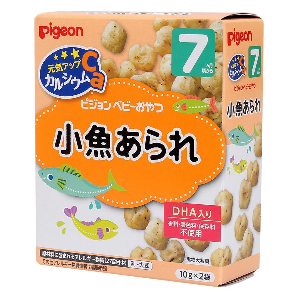 Bánh ăn dặm Pigeon vị cá cơm (Trên 7 tháng)...
