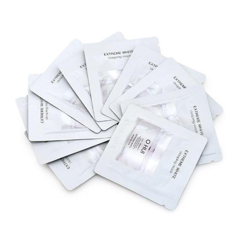 Combo 10 Mặt Nạ Ngủ Dưỡng Trắng Da Ban Đêm Ohui Extreme White Sleeping Mask 1mlx10 nhập khẩu